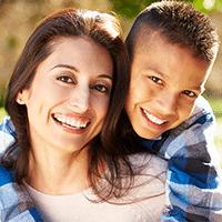 Hispanic Boy and Mom Support 200