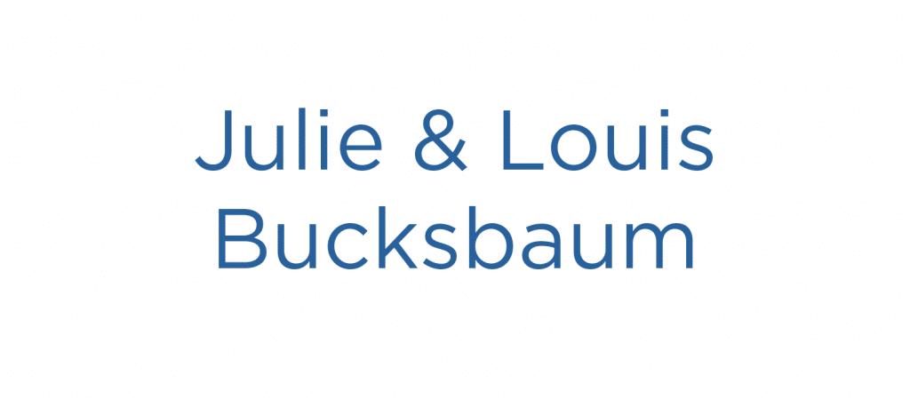 Julie and Louis Bucksbaum