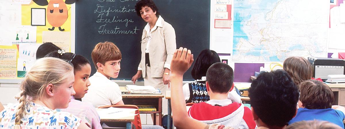 classroom header